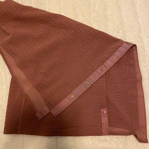 Lululemon Vinyasa crinkle scarf mauve pink
